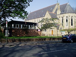 Whalley Range, Manchester - The former St Edmund's Church