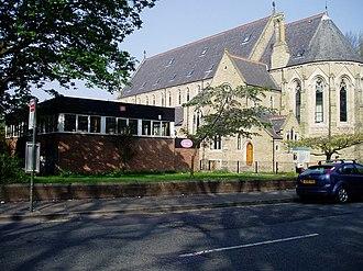 Whalley Range, Manchester - The former St Edmund's Church