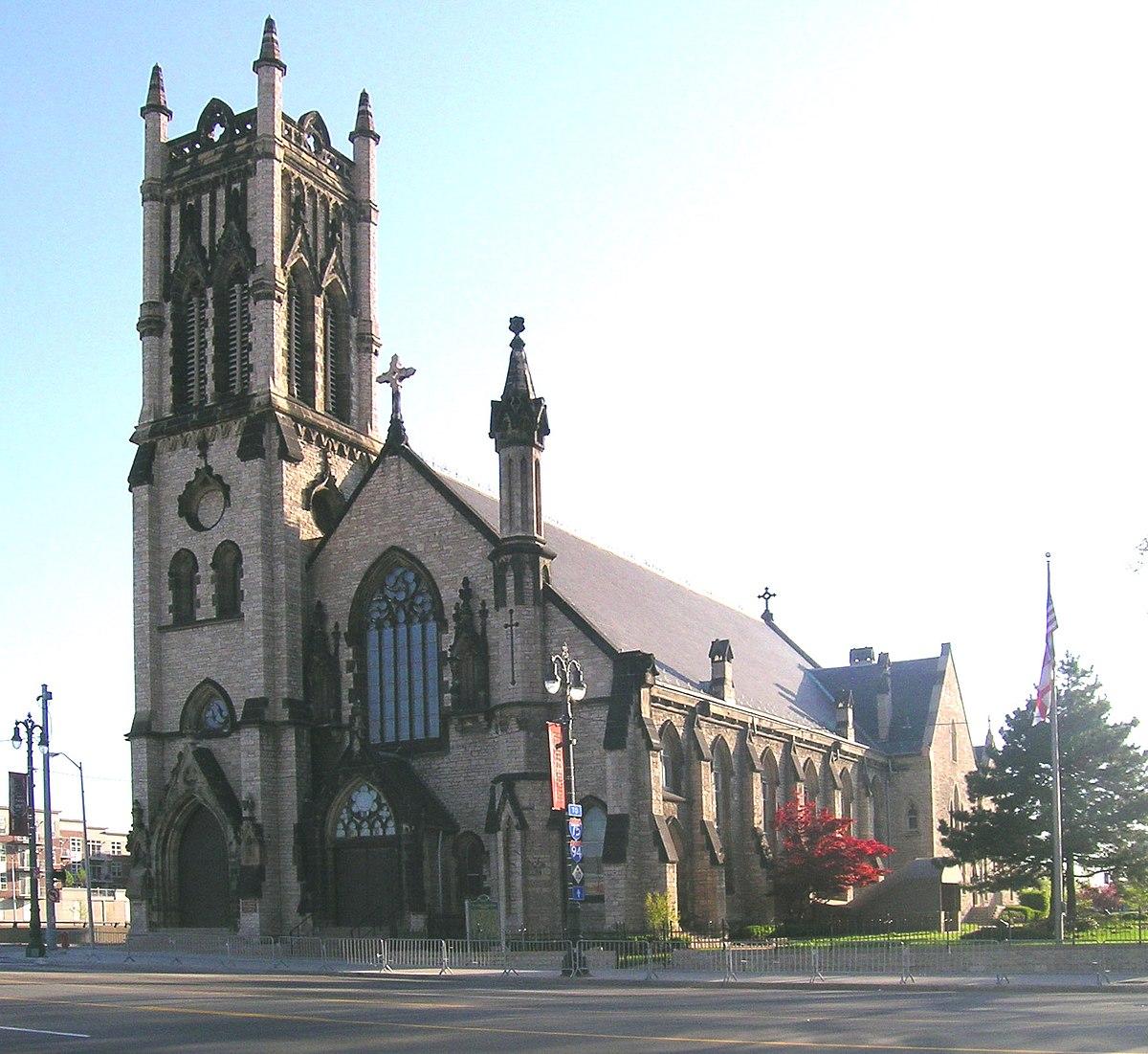 St. John\'s Episcopal Church (Detroit, Michigan) - Wikipedia