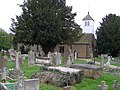 St Laurence Church and graveyard Wormley - geograph.org.uk - 156038.jpg