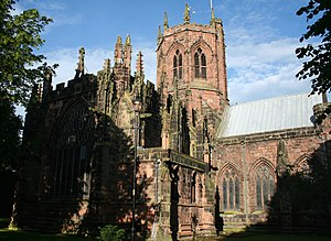 Listed buildings in Nantwich - St Mary's Church