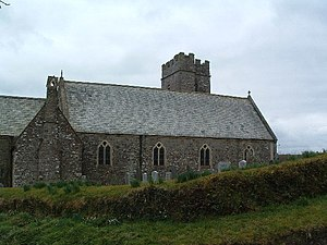 East Buckland - Image: St Michael's Church, East Buckland geograph.org.uk 71413