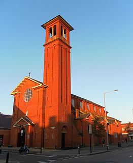 St Peters Church, Aldrington Church in Brighton and Hove , England