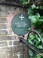 St Peter at Southgate plaque.jpg