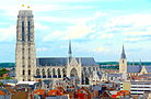 St Rombouts Cathedral from the Church of Our Lady across the Dijle 02.JPG