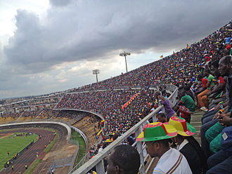 Yaoundé - Ahmadou Ahidjo stadium during a match