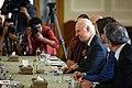 Staffan de Mistura meet with Sadegh Hosein Jaberi Ansari Spokesperson for the Ministry of Foreign Affairs of Iran 09.jpg
