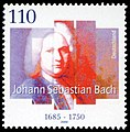 Stamp Germany 2000 MiNr2126 Johann Sebastian Bach.jpg