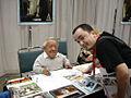 Star Wars Celebration IV - Me and Kenny Baker (R2-D2) (4878879372).jpg