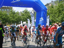 Start van de Ronde van Luxemburg in 2007