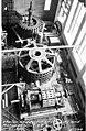 Stator and rotor of unit no 1 turbine and rotor of unit no 2 turbine under construction, Gorge Dam Powerhouse, November 27, 1923 (SPWS 216).jpg