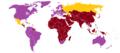 Statut de l'acceptation militaire de l'homosexualité dans le monde.png