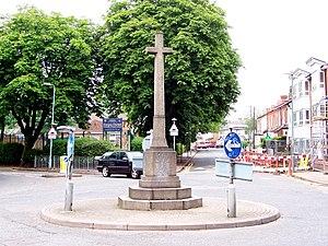Stechford - The Stone Cross war memorial, near the A4040