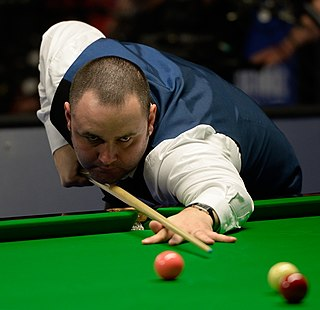 Stephen Maguire Scottish professional snooker player, 2004 UK champion