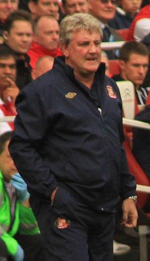 Steve Bruce - Bruce managing Sunderland in 2011