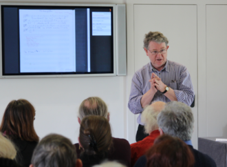 Roud Folk Song Index - Steve Roud, creator of the Roud Folksong Index, speaking about The Full English website at Clare College, Cambridge in March 2014.
