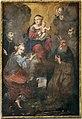 Stile di antonio franchi, madonna col bambino e santi, 1690-1710 ca.jpg