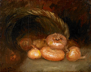 Still Life with Onions