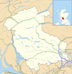 Blairlogie is located in Stirling
