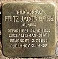 Stolperstein Eichenallee 3 (Westend) Fritz Jacob Heine.jpg