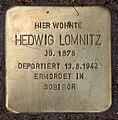 Stolperstein Pariser Str 10 (Wilmd) Hedwig Lomnitz.jpg