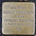 Stolperstein Remscheid Alte Bismarckstraße 14 Markus Lenneberg.jpg