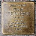 Stolperstein Sonja Fleischmann Stockholmer Straße 28 0085.JPG