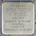 Stolperstein für Amelia Piperno in Sonnino (Rom).jpg