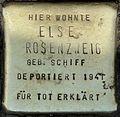 Stolpersteine Köln, Else Rosenzweig (Aachener Straße 28).jpg