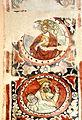 Stralsund Nikolaikirche - Fresko 5 König und Prophet.jpg