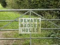 Strange sign on the way to Charlcutt - geograph.org.uk - 1520755.jpg
