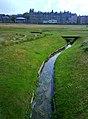 Stream, North Berwick Golf Course - geograph.org.uk - 1465219.jpg