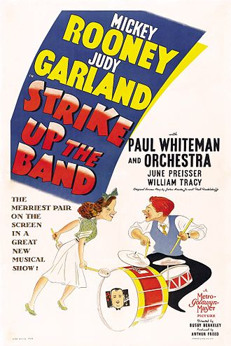 Strike Up the Band (film) - theatrical release poster