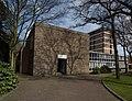 Studentenkerk en klooster voor de orde van de Zusters onder de Bogen te Nijmegen.jpg