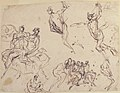 Studies of a Group of Seated Figures and of a Flying Figure MET 17.236.9.jpg