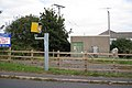 Sub-station and poles, Shutterton Bridge, North Dawlish - geograph.org.uk - 1510124.jpg