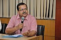Subhabrata Chaudhuri Speakes - Opening Session - Workshop on Organising Indian and World Robot Olympiad - NCSM - Kolkata 2016-03-07 2200.JPG