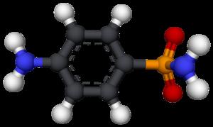 Sulfanilamide - Image: Sulfanilamida 3D