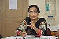 Sumita Roy Dutta Talks - West Bengal Wikimedians Strategy Meetup - Kolkata 2017-08-06 1637.JPG
