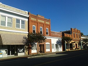 West Point, Virginia - Storefronts in 2016