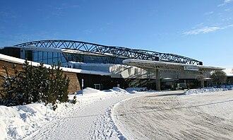 Sundsvall–Timrå Airport - Image: Sundsvall Härnösand Airport (Terminal building)