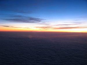 Sunrise (on the way from Gothenburg to Copenhagen)