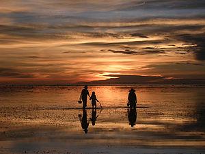 Almeria, Biliran - Sunset at the Agta Beach Resort
