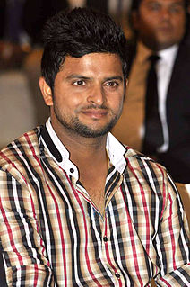 Suresh Raina Indian former international cricketer