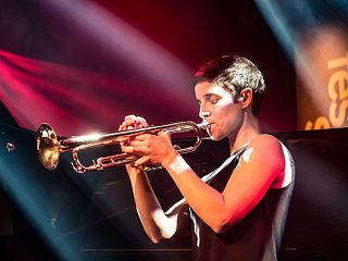 Susana Santos Silva Portuguese trumpeter