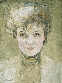 Susanne Renate Granitsch - Selbstbildnis - 2515 - Österreichische Galerie Belvedere.jpg