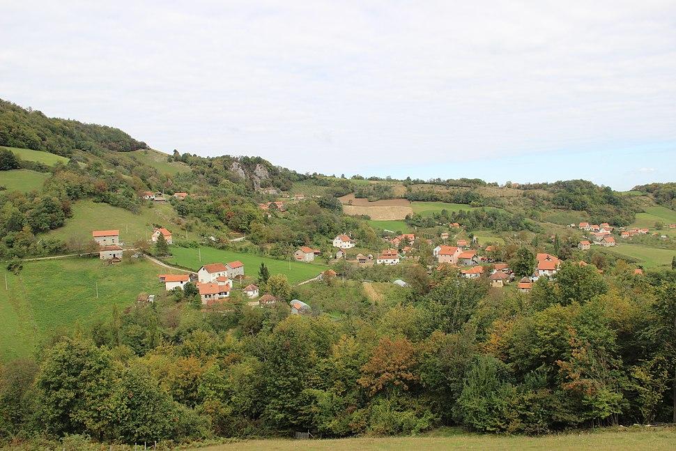 Suvodanje - opština Valjevo - zapadna Srbija - panorama 1