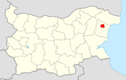 Suvorovo Municipality Within Bulgaria.png