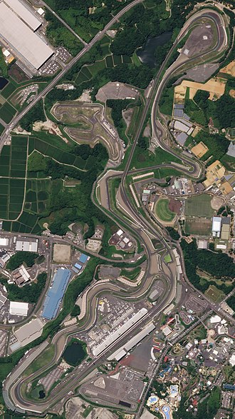 Suzuka International Racing Course - The circuit, as it appeared in July 2018