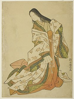 Suzuki Harunobu - The Poetess Ono no Komachi - 1925.2046 - Art Institute of Chicago.jpg